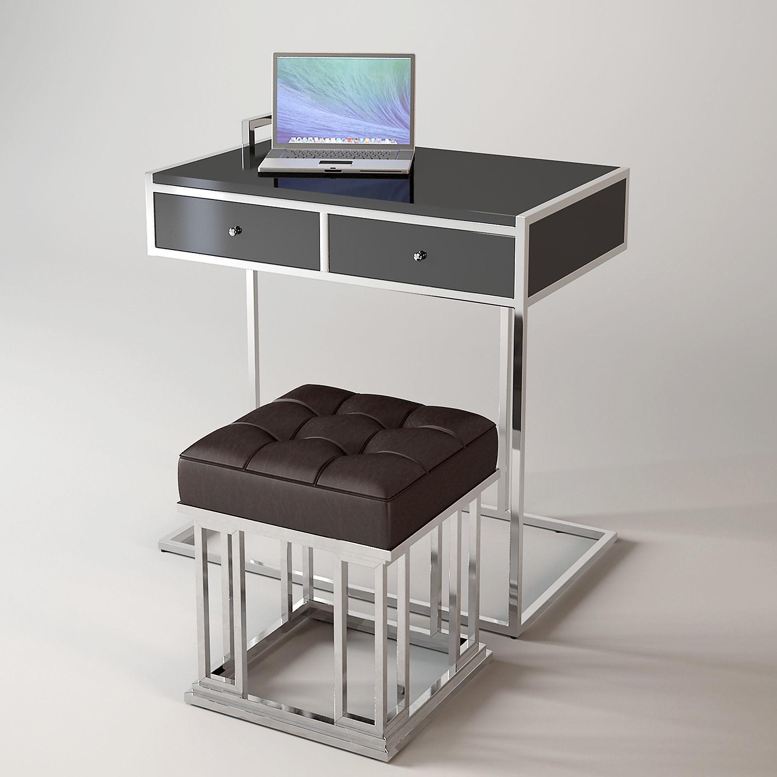 - 3D Model Eichholtz Equinox Desk Stool CGTrader