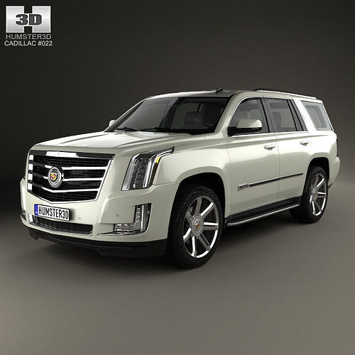Used Cadillac Escalade Parts For Sale: Cadillac Escalade 2015 3D