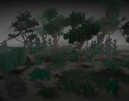 environment pack 3D model