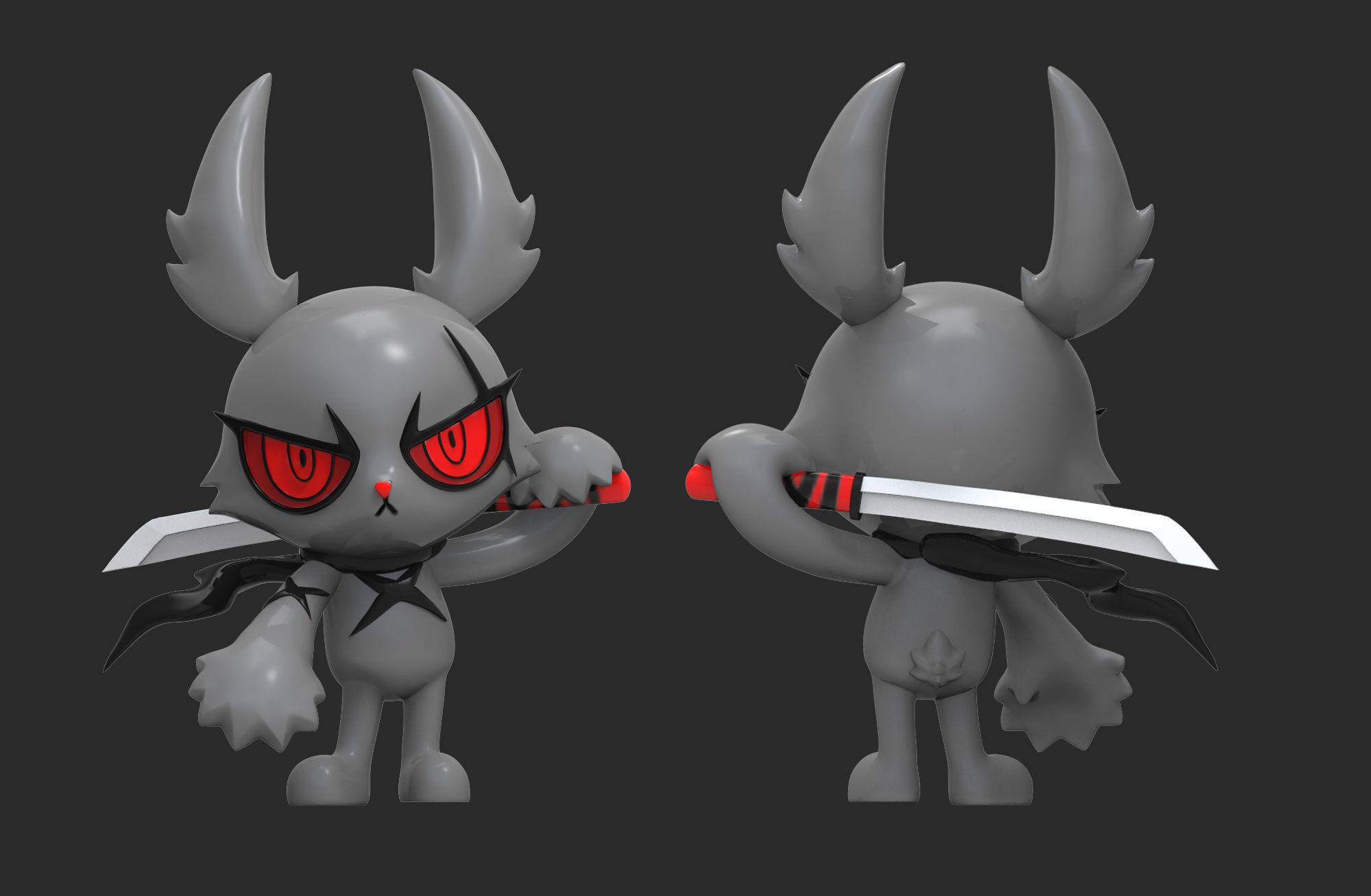 Dark Rabbit Bloody Bunny