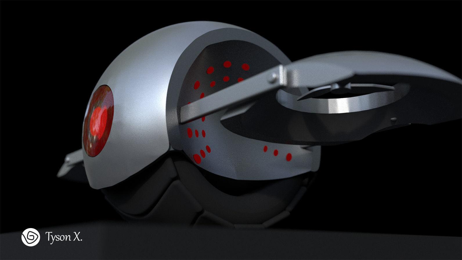 Tau - Little Drone Robot   3D model