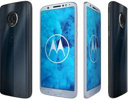 Motorola Moto G6 All Colors 3D model