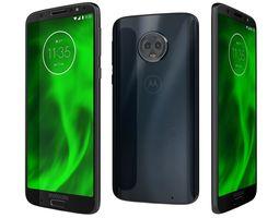 3D model Motorola Moto G6 Deep Indigo