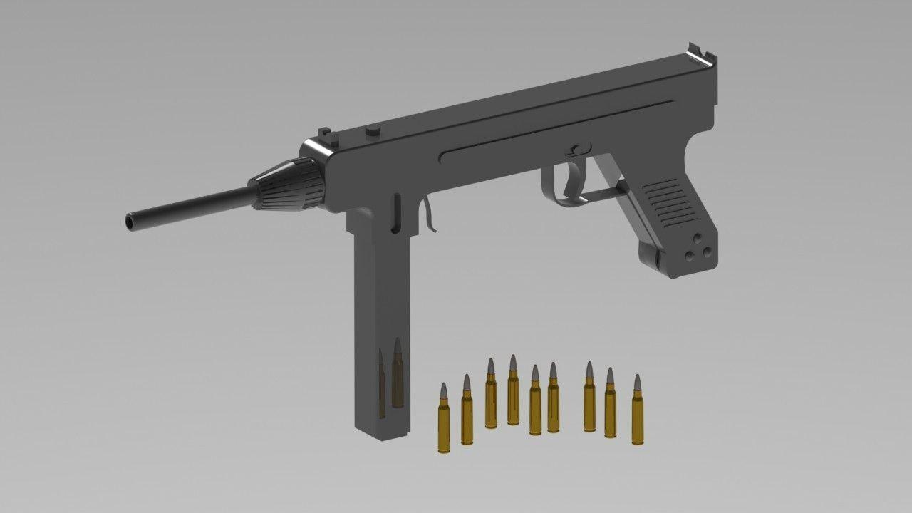 machine gun models