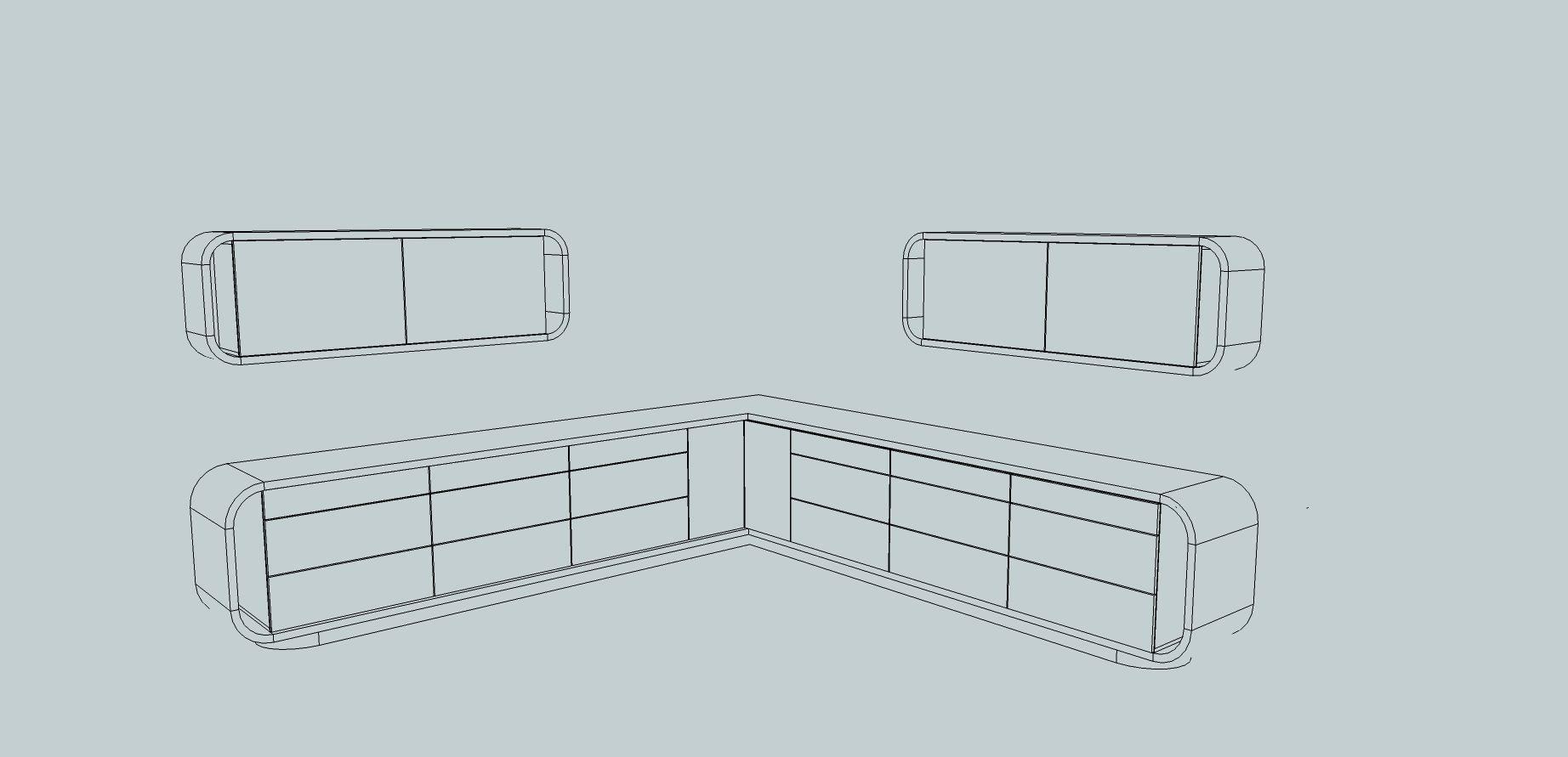 3D Modern Kitchen Furniture | CGTrader