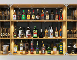 chivas Bar Set Grand 3D
