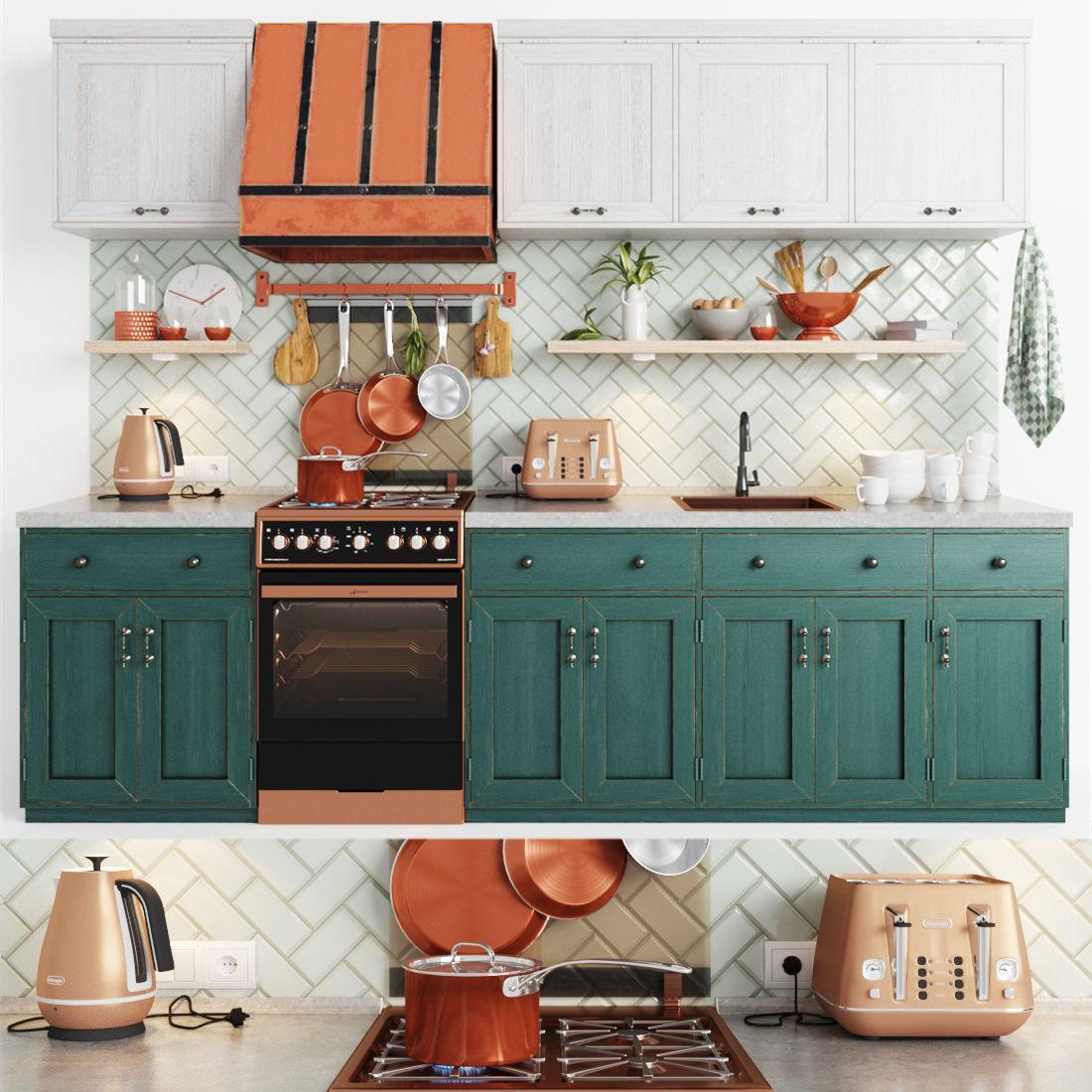 Cooper Delonghi Kitchen Set
