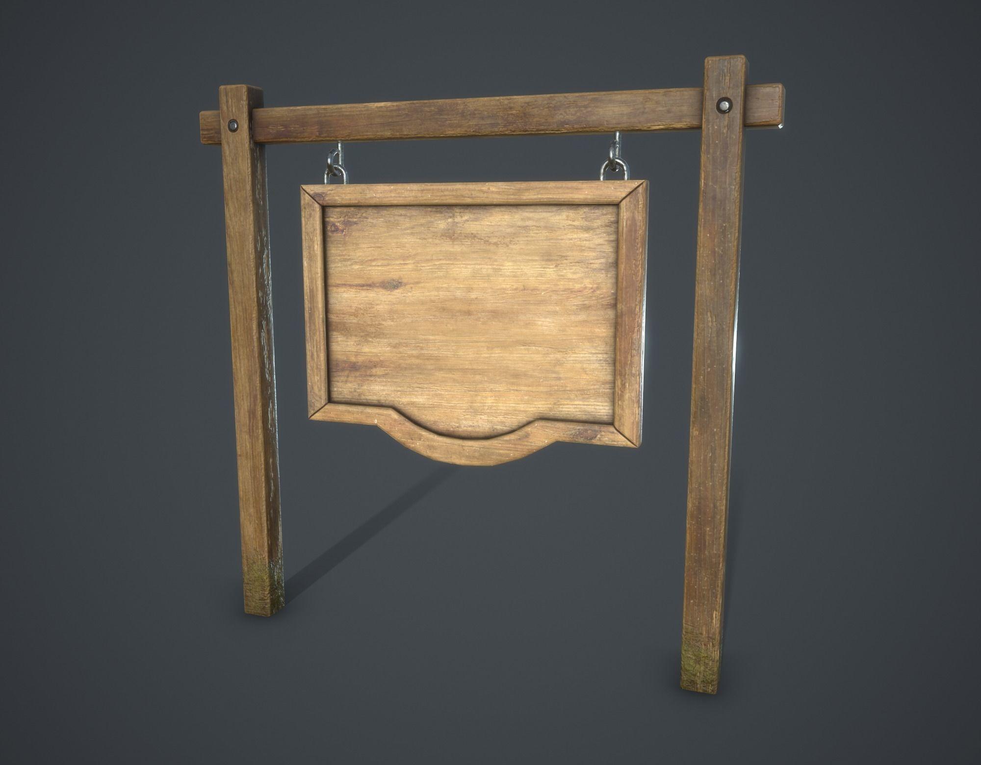 Medieval Signboard