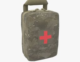3D model Military First Aid Kit