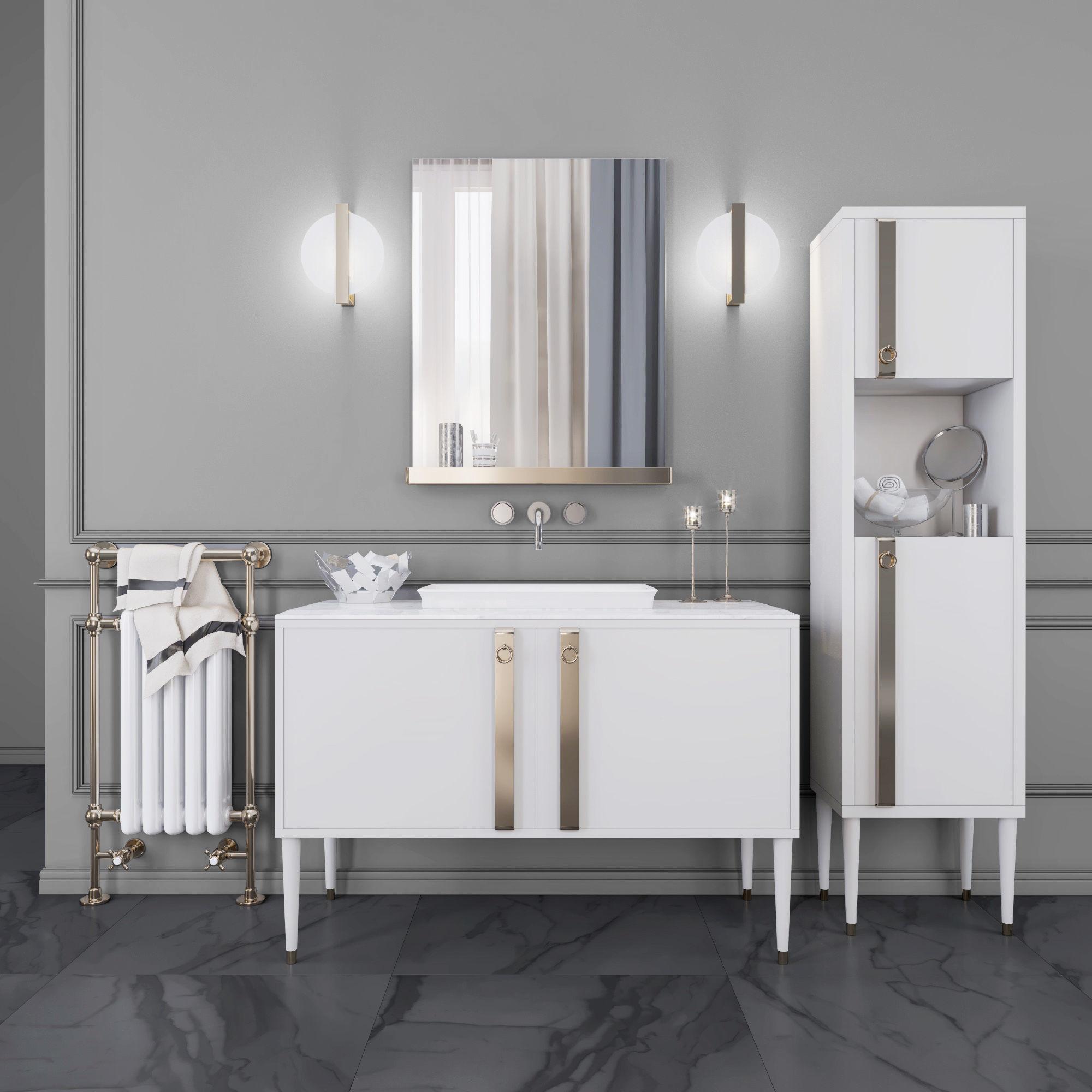 Mia Italia TRIBECA 07 Bathroom furniture 3D | CGTrader