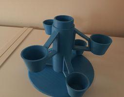 Rotating Desk-Tidy 3D printable model