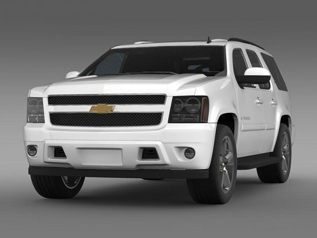chevrolet tahoe ltz 2007 3d model cgtrader. Black Bedroom Furniture Sets. Home Design Ideas