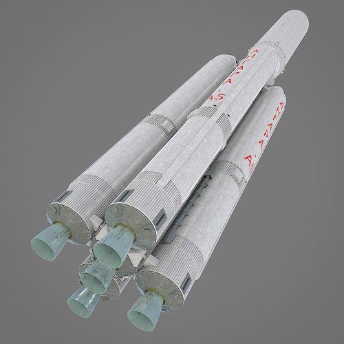 angara a-5 3d model obj mtl fbx stl blend 1