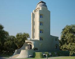 Einstein Tower 3D model