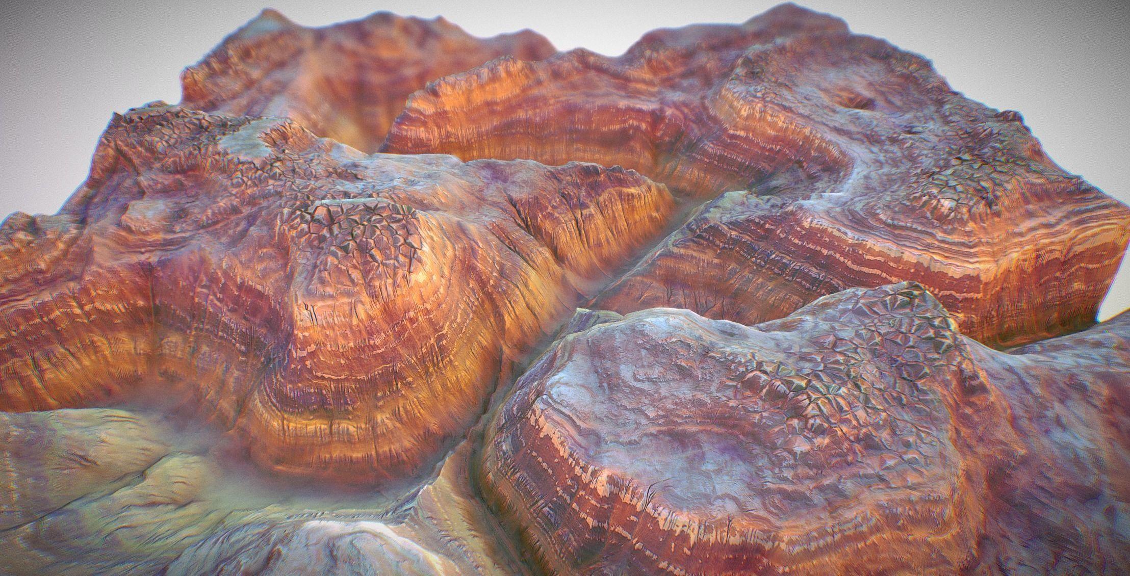 PBR Cinematic Canyon Landscape - Canyonized