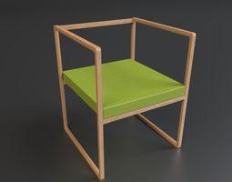 Minimal Chair 3D model