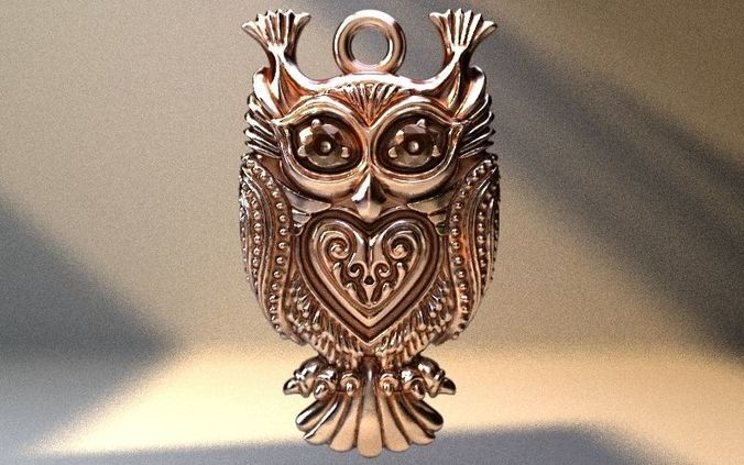 owl lovely 3d model stl 1