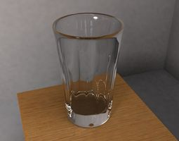 glass cup household 3D model