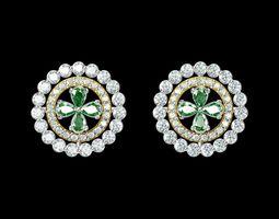 3d printable model indian jewellery design