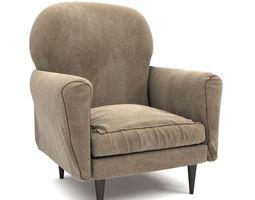 interior furniture 3D Armchair