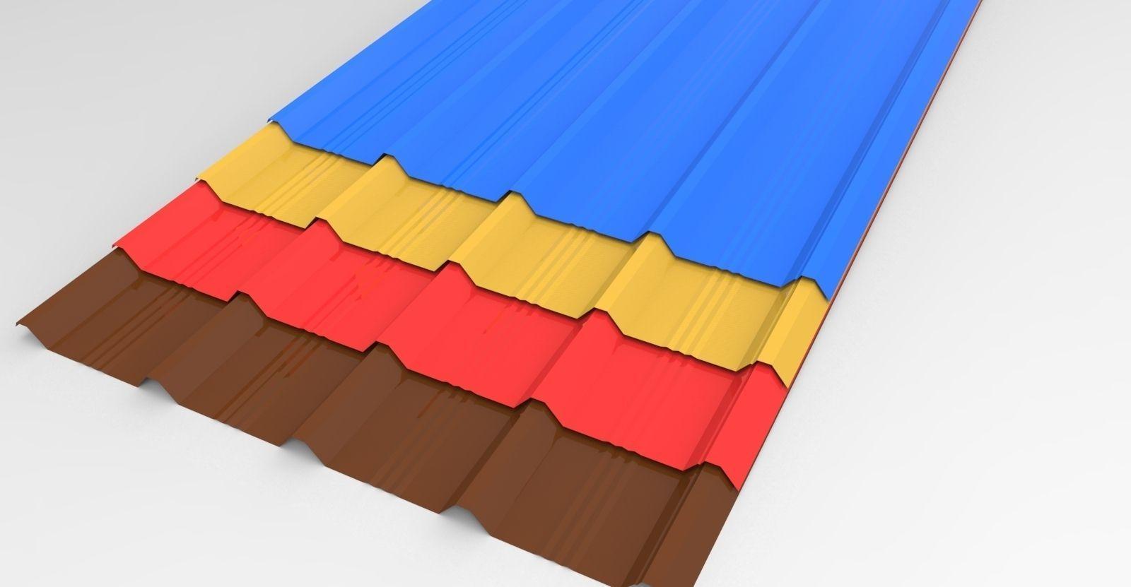 roofing sheets 3d model sldprt sldasm slddrw 1 ... & 3D model roofing sheets | CGTrader memphite.com