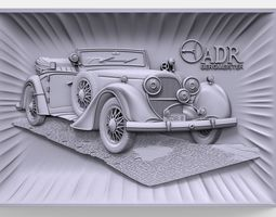 Austro Daimler ADR 6 Bergmeister bas 3D printable model