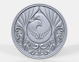 3D printable model Doves pendant