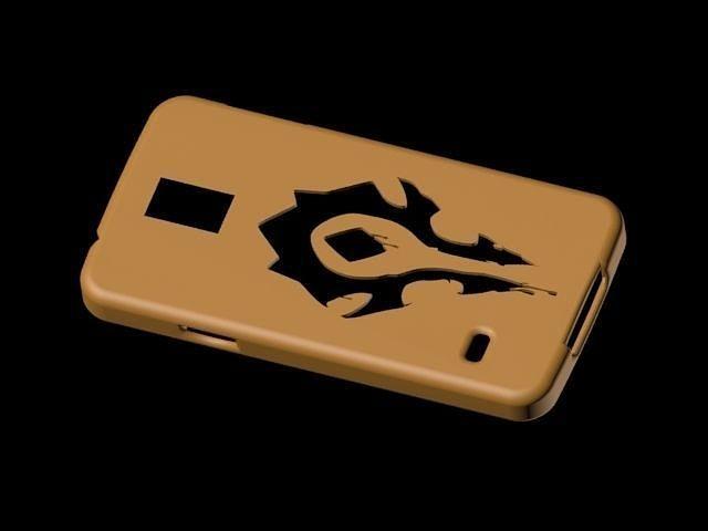 horde phone case galaxy s5 3d model max 1
