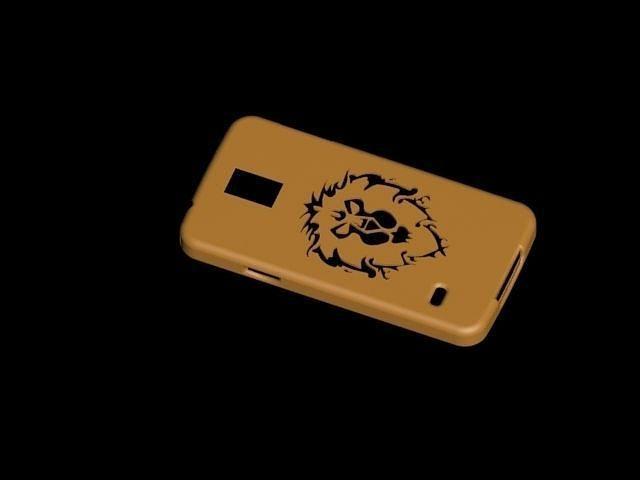 alliance galaxy s5 phone case 3d model max 1