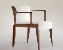 Giorgetti INA armchair 3D Model