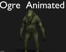 3D asset ogre animated