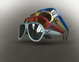 3D model Sunglasses racer