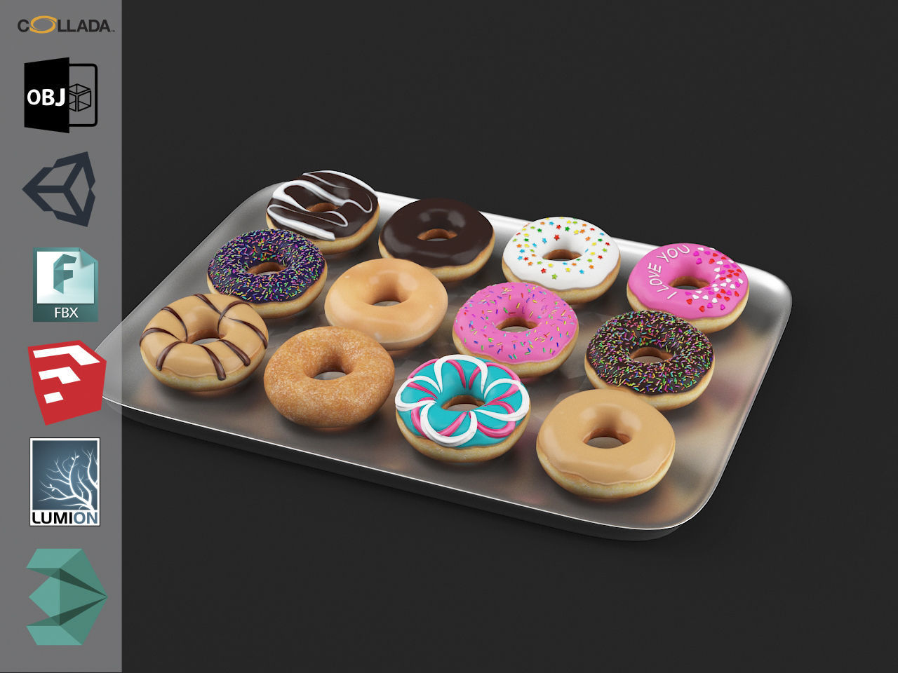 Donuts Pack 1