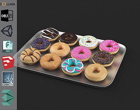 3D asset Donuts Pack 1