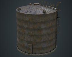 3D asset Silo 1B