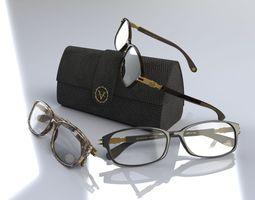 3D Optical eyewear frame