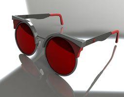 3D Retro Pantho sunglasses