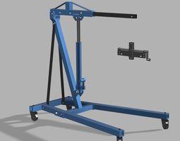3D print model Engine lift 10th scale
