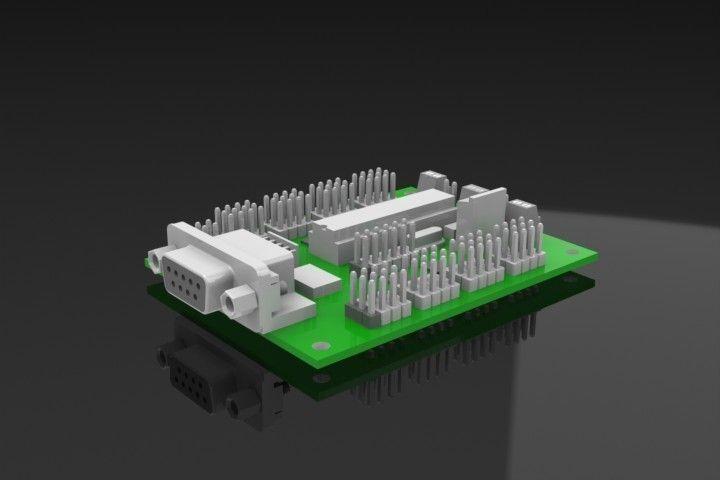 Srs232 Module for stepper motor