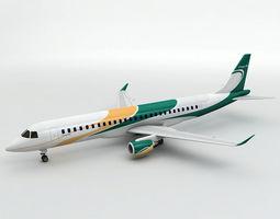 Embraer Lineage 1000 Airliner 3D asset