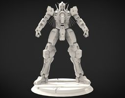 3D printable model GN-004 Gundam Nadleeh