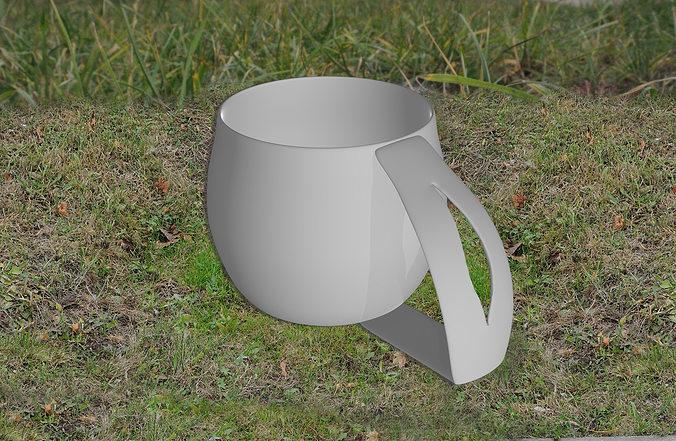 tea cup 3d model stl 1