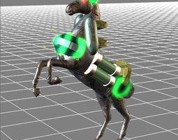 Lightning Galloper for iclone 3D asset