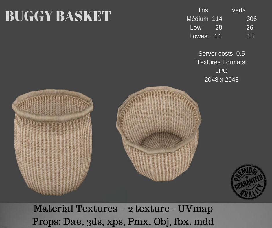 Buggy basket | 3D model