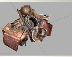 Debris 3d model free download