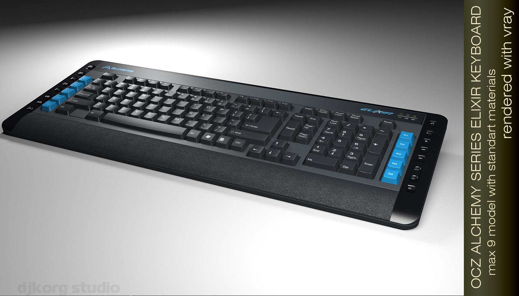 OCZ Elixir I Keyboard 64 BIT