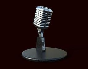 Microphone radio 3D model