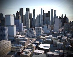 City 03 3D model