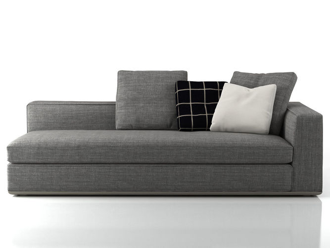powell sofa system 3d model max obj mtl 3ds fbx c4d skp 1