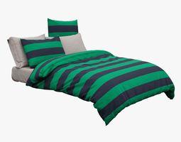 3D Teens Twin Bed